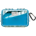 Pelican 1040 Micro Case - Clear Case/Blue Liner