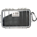 Pelican 1040 Micro Case - Clear Case/Black Liner
