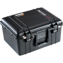 Pelican 1557 Air Case with Logo and No Foam - Black