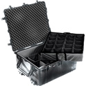 Pelican 1690-004-110 1694 Transport Case with Padded Dividers - Black