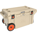 Pelican 32-80Q-OC-TAN  80 Quart Outdoor Elite Cooler - Wheeled - Tan