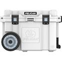 Pelican 45QW-1-WHT 45 Quart Elite Cooler - Wheeled - White