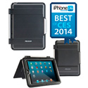 Pelican CE2180 Vault Series Tablet Case - Designed for Apple iPad Air - Black/ Gray