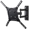 Peerless ETA4X4 Full-Motion Plus Wall Mount for 22 - 46 Inch Displays
