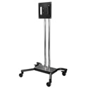 Peerless SC560DPS Floor Cart for 32 to 65 In. Flat Panel Displays - Black/Chrome