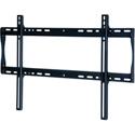 Peerless-AV SF650 Universal Flat Wall Mount For 39-75 in. Displays - Security Model - Black