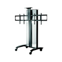 Peerless-AV SR555E Flat Panel Video Conference Cart for Two 40 - 55 Inch Displays