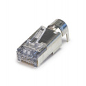 Platinum Tools 105029 ezEX48 Shielded RJ45 External Ground Connectors - Bag of 100