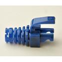 Platinum Tools 105035 EZ-DataLock Strain Relief for EZ-RJ45 Cat5e Only Blue 100pc/Bag