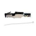 Platinum Tools 106230 Shielded Cat6A Flex Connector - Each