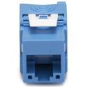 Platinum Tools 752BL-1 Keystone Cat6A Jack UTP Tool-less - Blue - 1/Bag