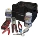 Platinum Tools 90149 EXO Deluxe Termination and Test Kit Box