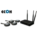 PureLink ECOH-KIT1-4 HDTools Easy Collaboration Wireless Video Hub with (4) USB ECOH Links