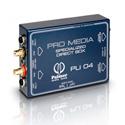 Palmer Audio PLI04 Media DI Box 2 Channel for PC and Laptop