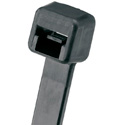 Panduit Pan-Ty Weather Resistant 8-Inch 18 Lb. Cable Tie - Black - 1000 Pack
