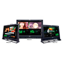Plura MVM-140 40-Inch 4-Channel HD-SDI Broadcast Monitor Class A w/Multiviewer