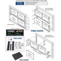 Plura PBM-209RKB Blank Plate for PBM-209RK