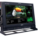 Plura PRM-217-3G 17 Inch HD Broadcast Monitor (1920x1080) 3G Ready Dual Display
