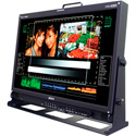 Plura PRM-224-3G 24-Inch HD Broadcast Monitor Dual display with Dual W/F & Vect
