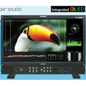Plura PRM-224-3G-O 24-Inch 3G HD Broadcast Monitor with Integrated OLED 10bit Pa