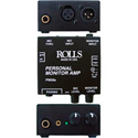 Rolls PM50S Personal Headphone Monitor Amp
