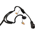 Point Source Audio CM-i3-5Mm Dual In-Ear Intercom Headset with 5-Pin Male XLR Wired for Mono Use