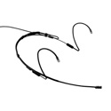 Point Source Audio CR-8D-XSH-BL Cardioid Headset Mic Shure. Black.