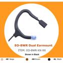 Point Source Audio EMBRACE Omni Dual Earmount Lav Waterproof Mic - Lemo-style 3-