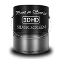 Paint On Screen 3DHD Silver Screen Water Base - 1 Gallon