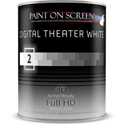 Paint On Screen - Digital Theater White - 1 Quart