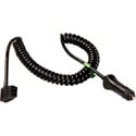 Connectronics 15ft Coiled Powertap F to Cigarette Plug Power Cable