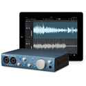 PreSonus AudioBox iTwo 2x2 USB 2.0 / iPad / MIDI Recording Interface w/ 2 Mic Inputs