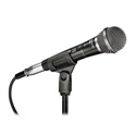 Audio-Technica Cardioid Dynamic Vocal Microphone w/15ft cable Stand Clamp & Bag
