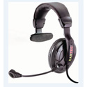 Eartec PS5XLRM - Proline Single Headset 5 Pin XLR Male - Telex RTS