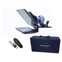 Prompter People FLEX 15 KIT 15 Inch Teleprompter w/ Wireless Remote & Flip-Q Pro