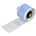 Brady PSPT-500-1-WT 1.015W x 0.851H PermaSleeve Heat Shrink Wire Markers - White