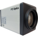 PTZOptics 20X 1080p NDI HX HD-SDI Box Camera (White with US Style Power Supply)