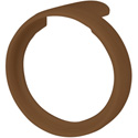 PX Series Color Code Ring Brown