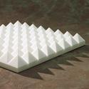 Charcoal Sonex Pyramids Polyurethane 24 x 24 x 4 Inch Box of 8