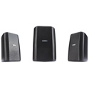 QSC Audio AD-S32T 2-Way Surface Mount Speaker - Black - Pair