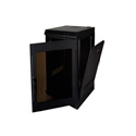 Quest WM2019-16-02 200 Series Wall Mount Enclosure - 16U Black