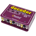 Radial Decoder Mid/Side Sum and Difference Matrix with 3 Channel Mic Preamp