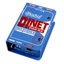 Radial Engineering DiNet Dan-RX Dante Network Receiver with Digital Inputs and Stereo Analog Outputs