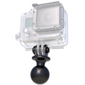 RAM RAP-B-202U-GOP1 Go Pro Mounting Base - 1 Inch Diameter Ball