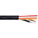 Clark RCC1V2AHD Single 3G-SDI RG59 Video & 2 Pair Audio Composite AV Cable - 1000 Foot