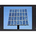 Recortec RMM-409N3L 19 Inch TFT 8U Rack Mount Monitor with Lexan Screen Protector - Black
