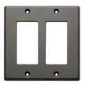 RDL CP-2G Double Cover Plate - gray