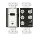 RDL D-AVMB2 Audio and Video Monitor BNC Panels