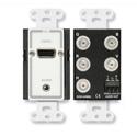 RDL D-AVMB2 Audio and Video Monitor BNC Panels