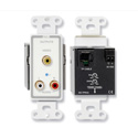 RDL D-TPR3C Active Three-Pair Receivers - Twisted Pair Format-C - Composite vide